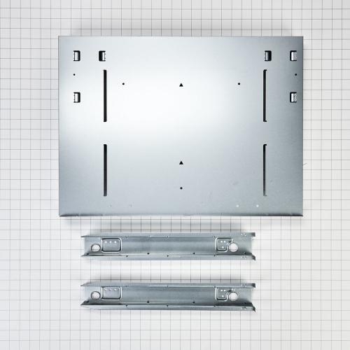 Over-The-Range Microwave Trim Kit, Anti-Fingerprint Stainless Steel