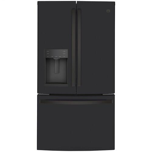 GE Appliances - GE® ENERGY STAR® 22.1 Cu. Ft. Counter-Depth French-Door Refrigerator