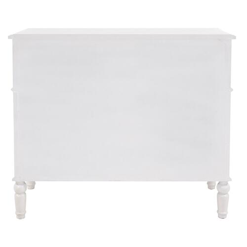 Howard Elliott - Madison Antique White Cabinet
