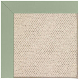 Creative Concepts-White Wicker Canvas Celadon Machine Tufted Rugs