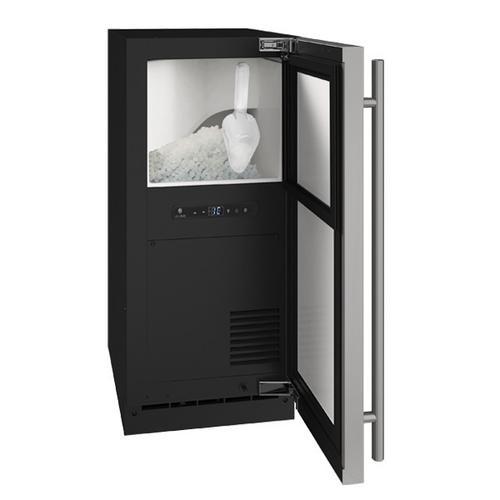 "U-Line - Hnb115 / Hnp115 15"" Nugget Ice Machine With Stainless Solid Finish, Yes (115 V/60 Hz Volts /60 Hz Hz)"