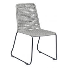 Carlo Dining Chair Blk & Drk Gray