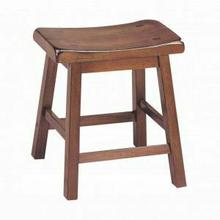 "ACME Gaucho Stool (Set-2) - 07303 - Walnut - 18"" Seat Height"