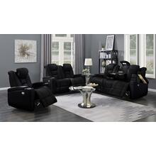 Transformers Black Power Leather Recliner Chair