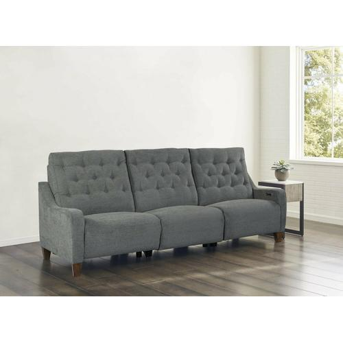 CHELSEA - WILLOW GREY Power Sofa (811LP, 840, 811RP)
