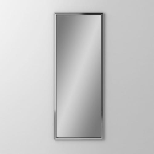 """Main Line 15-1/8"""" X 39-7/8"""" X 1-5/8"""" Rosemont Framed Mirror In Chrome"""