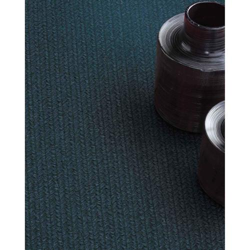 Capel Rugs - Heathered Pinwheel Navy Blue Solid - Oval - 5' x 8'
