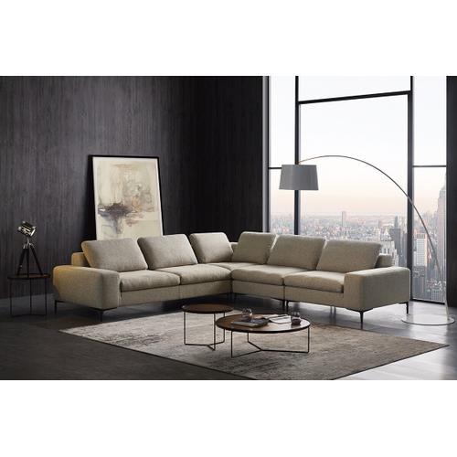 VIG Furniture - Divani Casa Cascade - Modern Beige Fabric U Shaped Sectional Sofa