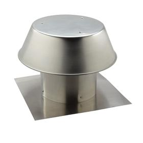 Broan-NuTone® 12-Inch, Roof Cap, For Flat Roof, Aluminum