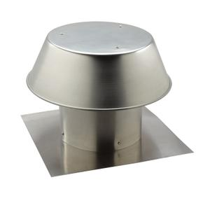Broan-NuTone® 12-Inch, Roof Cap, For Flat Roof, Aluminum -