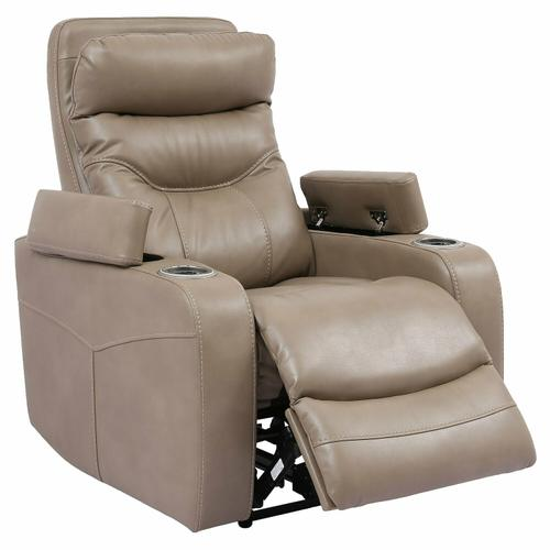 ORIGIN POWER - LINEN Power Home Theater Recliner