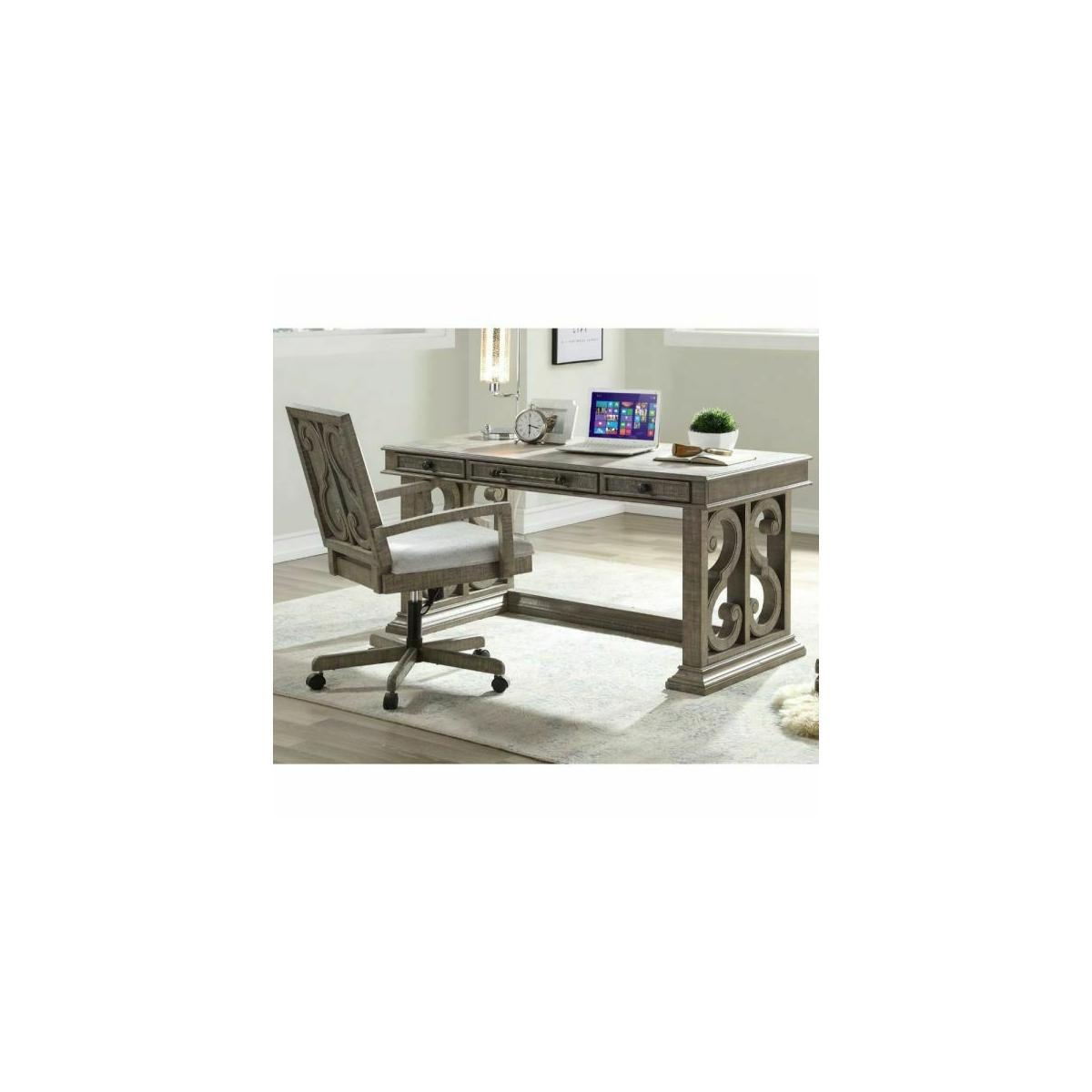 ACME Artesia Executive Desk - 92318 - Salvaged Natural