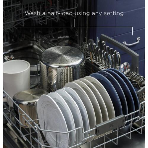 GE® Front Control with Plastic Interior Dishwasher with Sanitize Cycle & Dry Boost