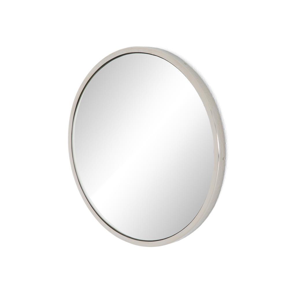 Convex Mirror-shiny Nickel