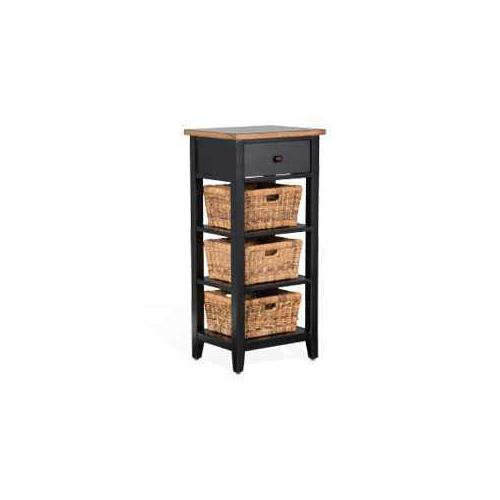 Storage Rack w/ Baskets
