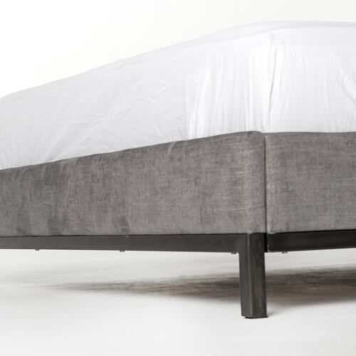 King Size Harbor Grey Cover Newhall Bed