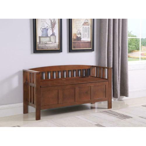 See Details - Traditional Brown Bench
