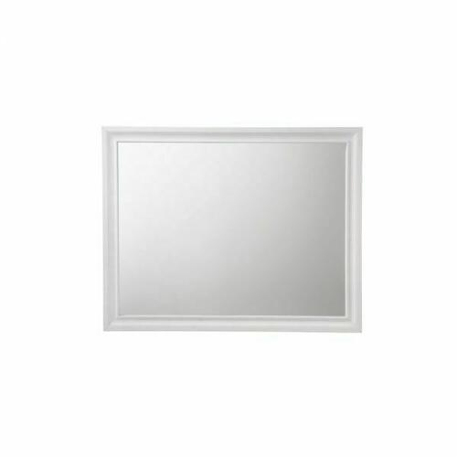 ACME Naima Mirror - 25774 - White