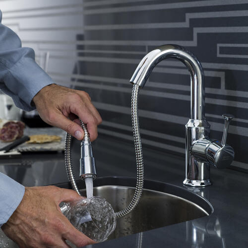 American Standard - Pekoe 1-Handle 1.5GPM Bar Sink Faucet  American Standard - Polished Chrome