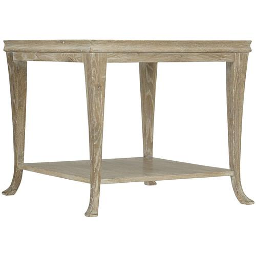 Bernhardt - Rustic Patina End Table in Sand (387)