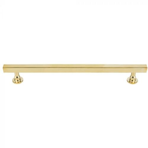 Vesta Fine Hardware - Dante Appliance Pull 12 Inch (c-c) Unlacquered Brass Unlacquered Brass