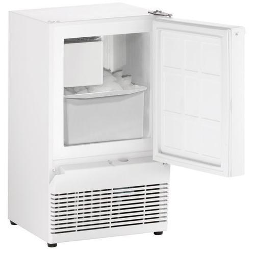 "Bi95 14"" Crescent Ice Maker With White Solid Finish (115 V/60 Hz Volts /60 Hz Hz)"