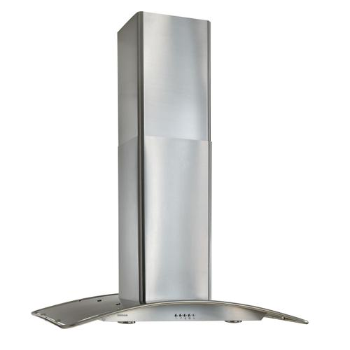 Broan - Broan® 36-Inch Convertible Arched Stainless Steel Island Range Hood, 450 CFM