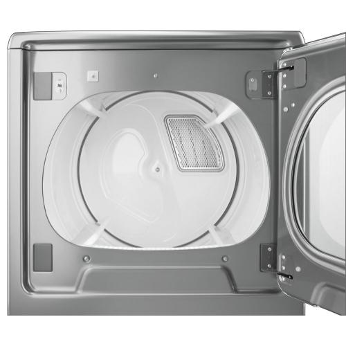 Gallery - 8.8 cu.ft Top Load HE Electric Dryer with Intuitive Touch Controls, Steam Refresh