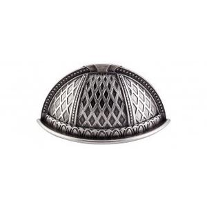 Trevi Cup Pull 2 1/2 Inch (c-c) - Pewter Antique
