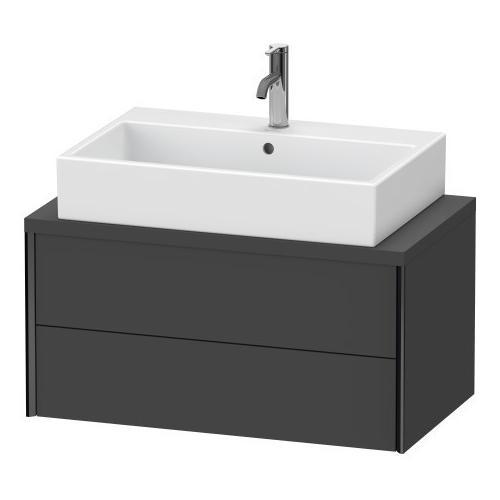 Vanity Unit For Console Compact, Graphite Matte (decor)