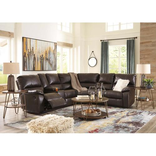 Warstein III Reclining Sectional
