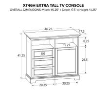 XT46H Extra Tall Custom TV Console