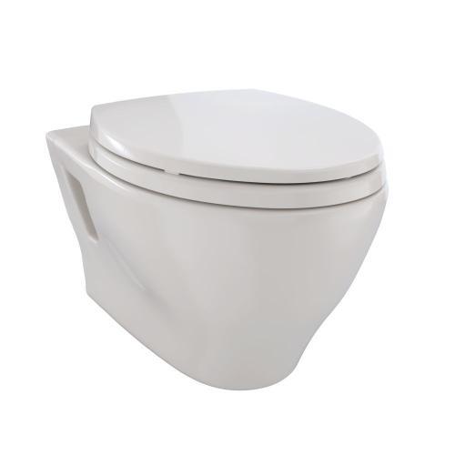 Aquia® Wall-Hung Dual-Flush Toilet, 1.6 GPF & 0.9 GPF, Elongated Bowl Less CEFIONTECT - Sedona Beige