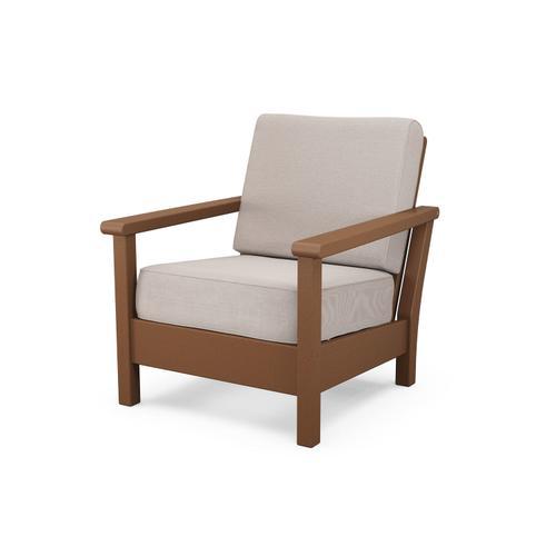 Teak & Dune Burlap Harbour Deep Seating Chair