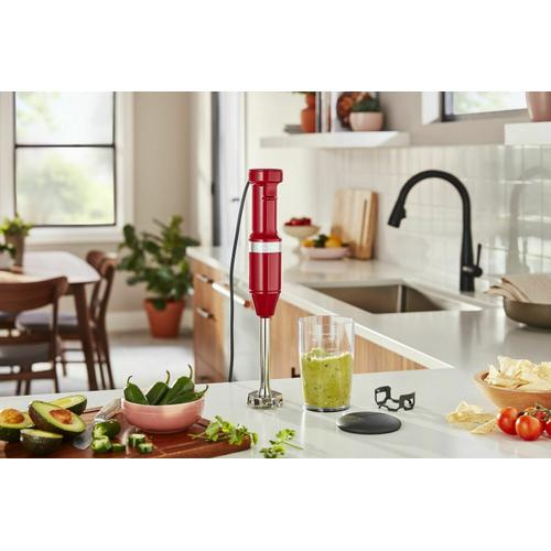 KitchenAid - Variable Speed Corded Hand Blender - Empire Red