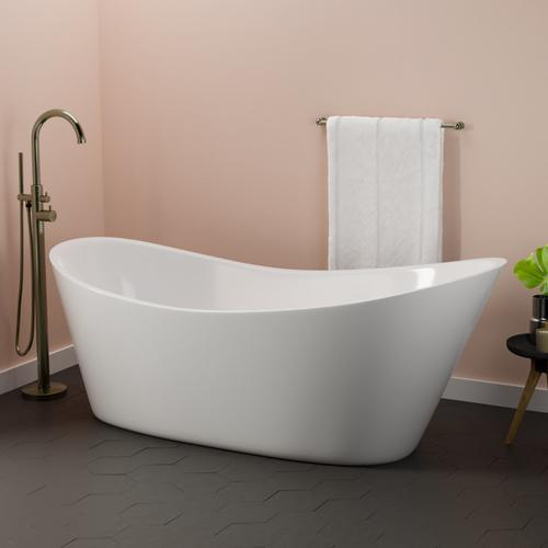 """Marilyn 71"""" Acrylic Slipper Tub"""