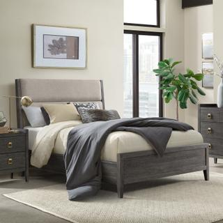 See Details - Portia Queen Upholstered Bed