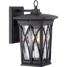 View Product - Grover Outdoor Lantern in Mystic Black