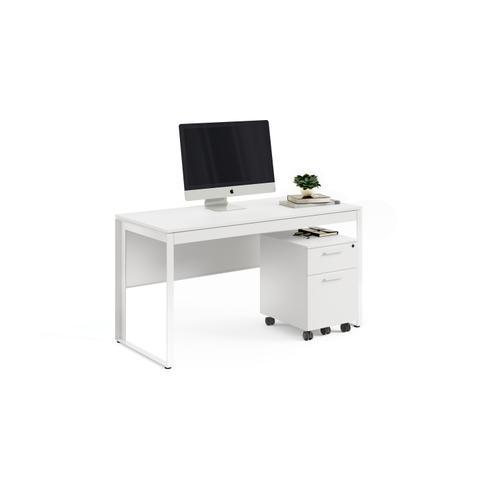 BDI Furniture - Linea 6221 Desk in Smooth Satin White