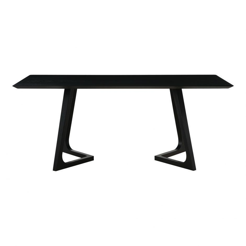 Godenza Dining Table Rectangular Black Ash