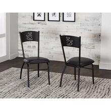 Nero Side Chairs 2pk