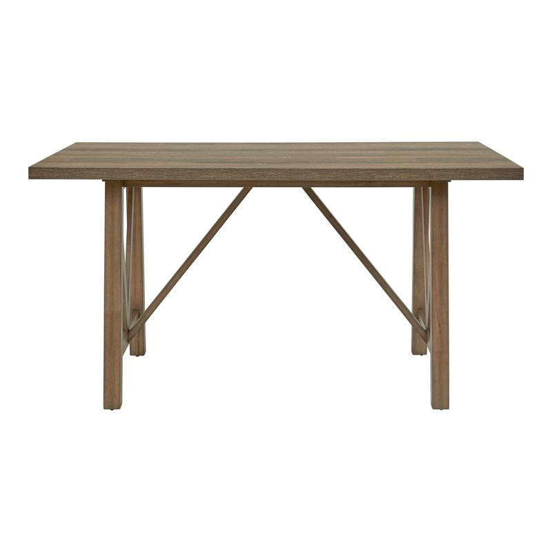 Carlton Trestle Gathering Table Top & Base