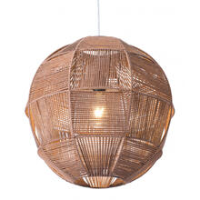 See Details - Florence Ceiling Lamp Brown