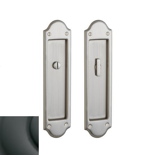 Baldwin - Oil-Rubbed Bronze PD016 Boulder Pocket Door