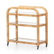 See Details - Dory Bar Cart-honey Rattan