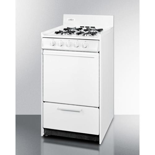 "Product Image - 20"" Wide Gas Range"
