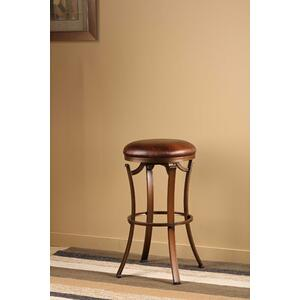 Kelford Backless Swivel Counter Stool, Bronze