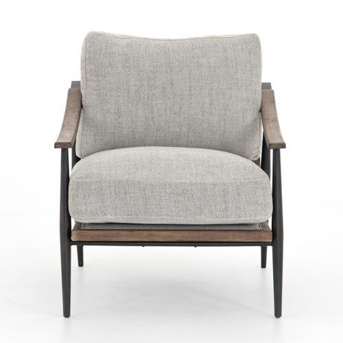 Kennedy Chair-gabardine Grey