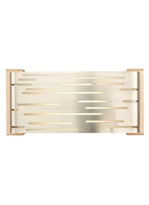 Satin Nickel with Maple Wood Trim Revel Wall Product Image