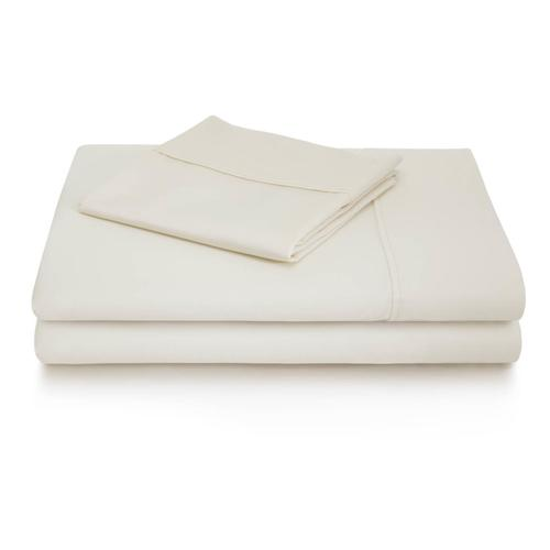 600 TC Cotton Blend King Pillowcase White